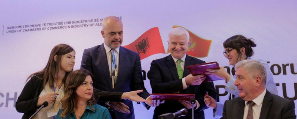 """Forumi """"Sfidat dhe mundësitë"""", Shqipëri -Mali i Zi"""