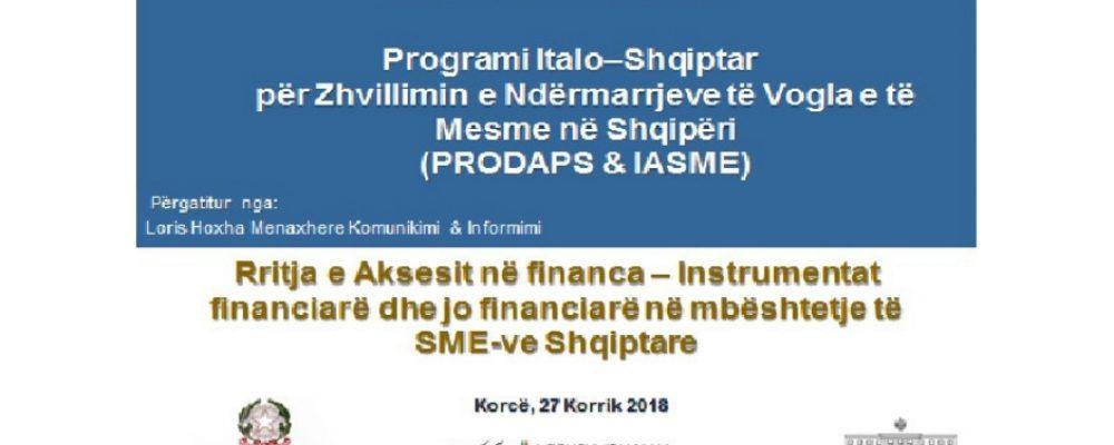 """Kredia e """"butë"""" italiane në Durrës"""